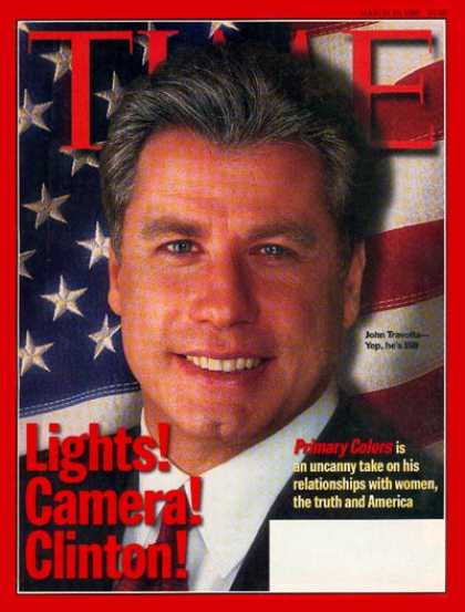 Time - John Travolta - Mar. 16, 1998 - Television - Movies - Actors