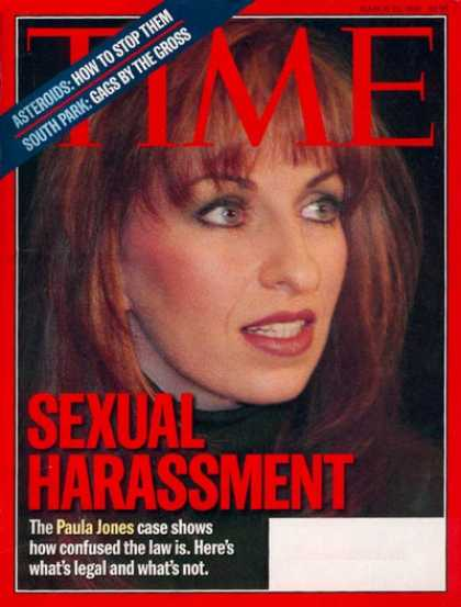 Time - Paula Jones - Mar. 23, 1998 - Scandals