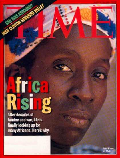 Time - Africa Rising - Mar. 30, 1998 - Africa