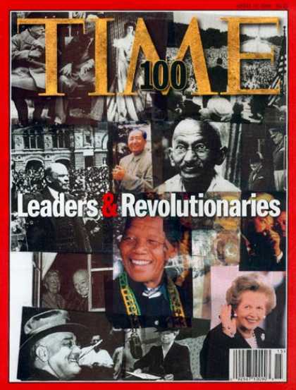 Time - TIME 100: Leaders & Revolutionaries - Apr. 13, 1998 - TIME 100 - Military - Viol
