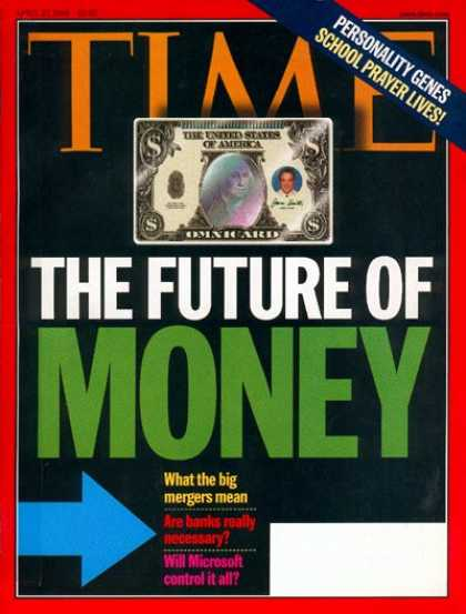 Time - The Future of Money - Apr. 27, 1998 - Economy - Finance - Money - Business