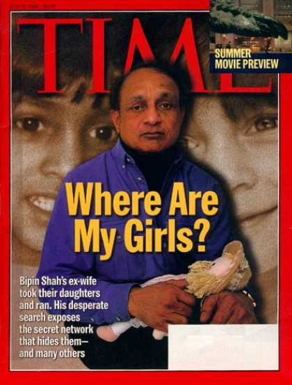 Time - Where Are My Girls? - May 11, 1998 - Children - Health & Medicine - Education