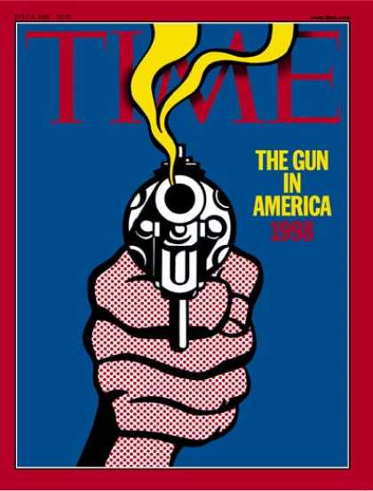 Time - The Gun in America, 1998 - July 6, 1998 - Guns - Violence - Crime - Social Issue