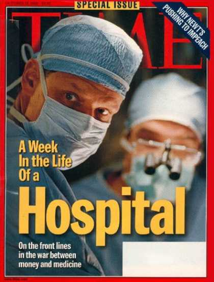 Time - A Week in the Life of an L.A. Hospital - Oct. 12, 1998 - Health & Medicine