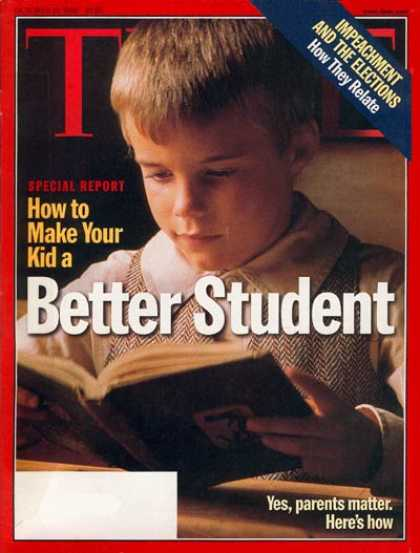 Time - How to Make Your Kid a Better Student - Oct. 19, 1998 - Students - Parenting - E