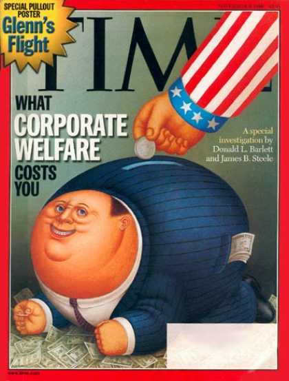 Time - Corporate Welfare - Nov. 9, 1998 - Finance - Business