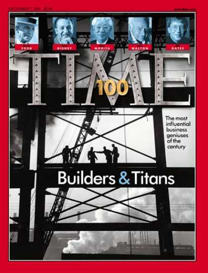 Time - TIME 100: Builders & Titans - Dec. 7, 1998 - TIME 100 - Finance - Special Issues