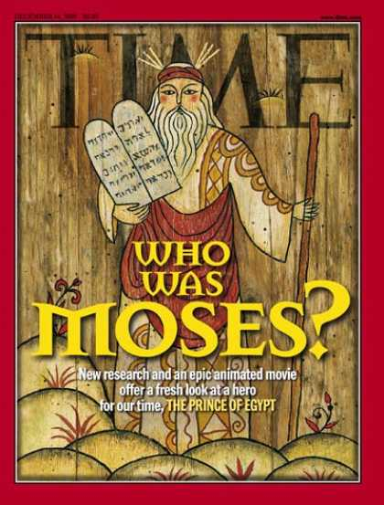 Time - Moses - Dec. 14, 1998 - Religion - Christianity