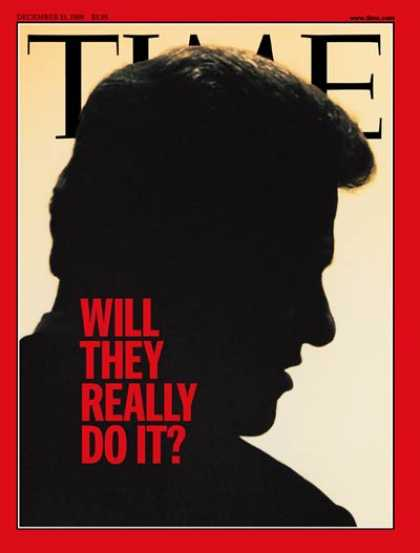 Time - Bill Clinton - Dec. 21, 1998 - U.S. Presidents - Politics