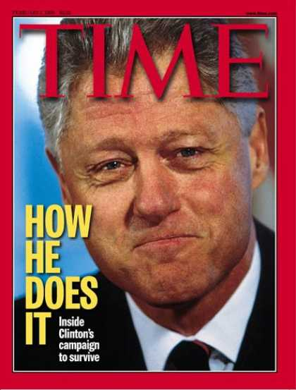 Time - Bill Clinton - Feb. 1, 1999 - U.S. Presidents - Politics