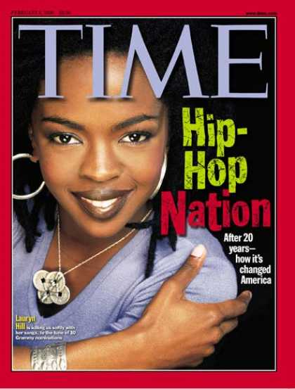 Time - Lauryn Hill - Feb. 8, 1999 - Singers - Hip-Hop - Most Popular - Music