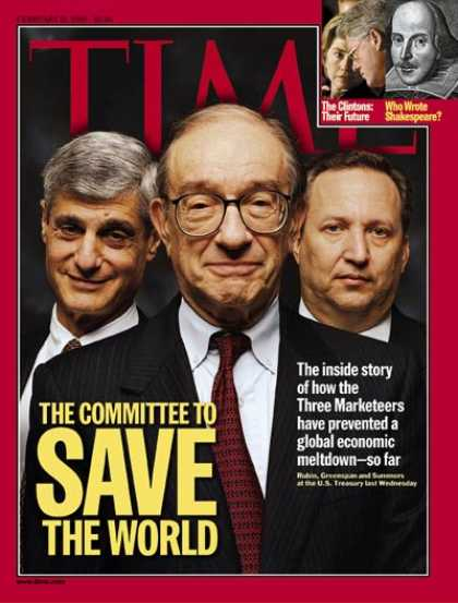 Time - Rubin, Greenspan & Summers - Feb. 15, 1999 - Business - Finance - Politics