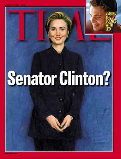 Time - Hillary Rodham Clinton - Mar. 1, 1999 - Hillary Clinton - First Ladies