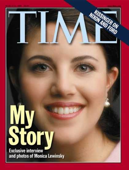 Time - Monica Lewinsky - Mar. 15, 1999 - Scandals