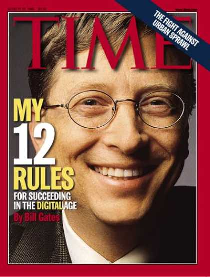 Time - Bill Gates - Mar. 22, 1999 - Microsoft - Computers - Science & Technology