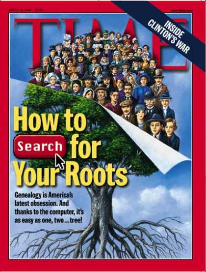 Time - Genealogy - Apr. 19, 1999 - Society
