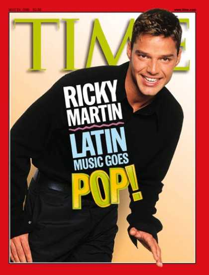 Time - Ricky Martin - May 24, 1999 - Rock - Singers - Music