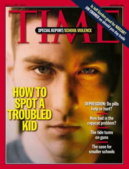 Time - How to Spot a Troubled Kid - May 31, 1999 - Teens - Children - Society - Educati