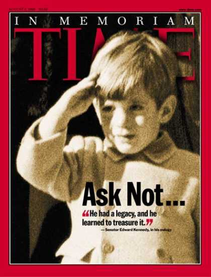 Time - John F. Kennedy, Jr. - Aug. 2, 1999 - John F. Kennedy Jr. - Kennedys