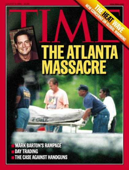 Time - The Atlanta Massacre - Aug. 9, 1999 - Violence
