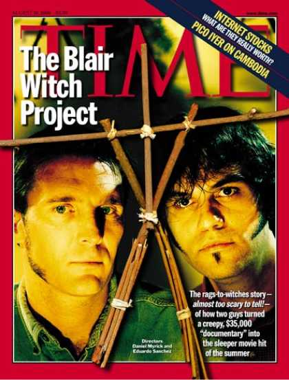 Time - The Blair Witch Project - Aug. 16, 1999 - Movies