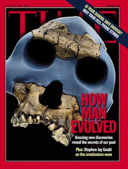 Time - How Man Evolved - Aug. 23, 1999 - Evolution - Biology - Science & Technology
