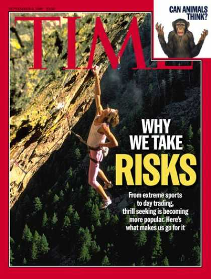 Time - Why We Take Risks - Sep. 6, 1999 - Psychology