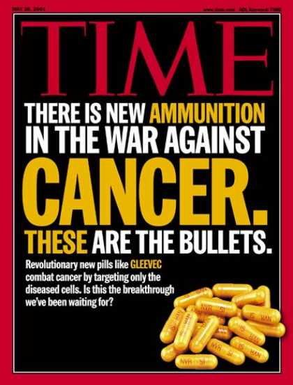 Time - Drugs That Fight Cancer - May 28, 2001 - Cancer - Illness & Disease - Disease -