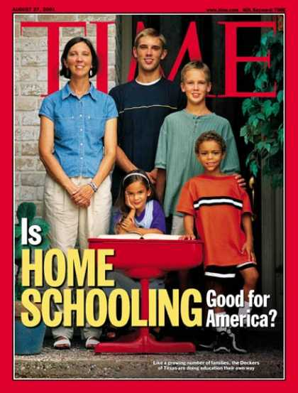 Time - Home Schooling - Aug. 27, 2001 - Parenting - Family - Education