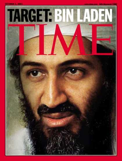 Time - Osama bin Laden - Oct. 1, 2001 - Sept. 11 - Al-Qaeda - Terrorism