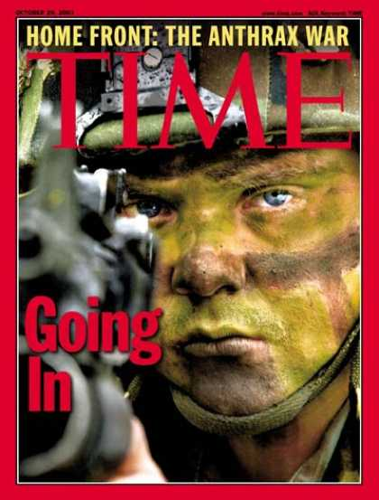 Time - War on Terrorism - Oct. 29, 2001 - Sept. 11 - Al-Qaeda - Military - Terrorism