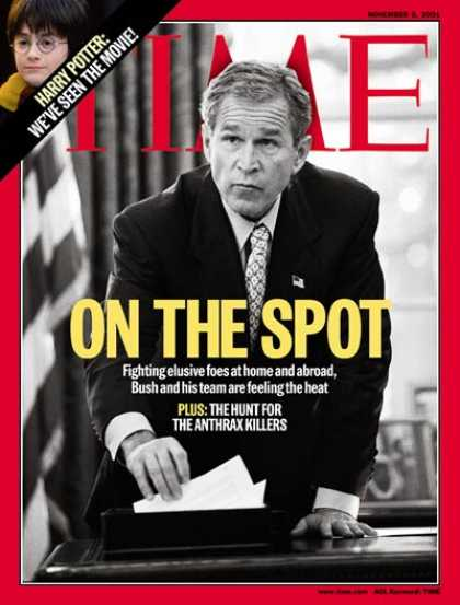 Time - George W. Bush - Nov. 5, 2001 - Sept. 11 - Al-Qaeda - Terrorism