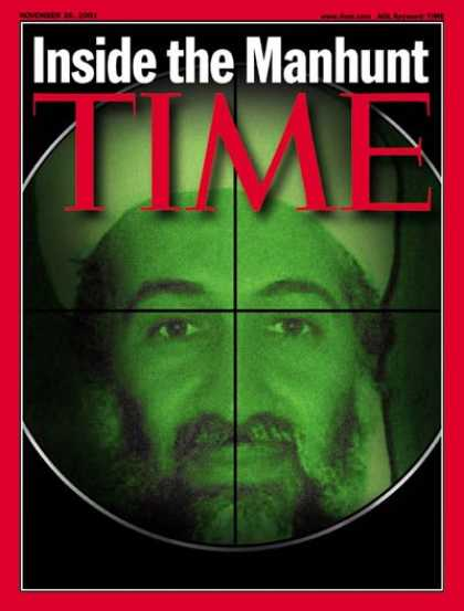 Time - Osama bin Laden - Nov. 26, 2001 - Sept. 11 - Al-Qaeda - Terrorism