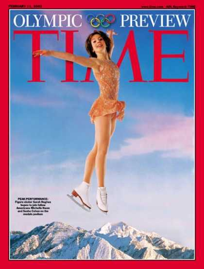 Time - Sarah Hughes - Feb. 11, 2002 - Skating - Olympics - Women - Sports