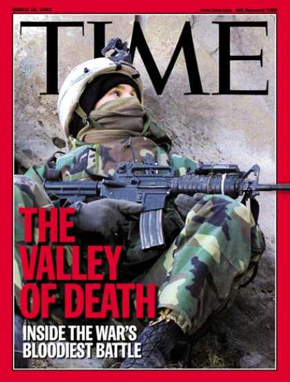 Time - The War on Terror - Mar. 18, 2002 - Sept. 11 - Al-Qaeda - Military - Afghanistan