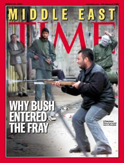 Time - Middle East - Mar. 25, 2002 - Israel - Violence - Palestine