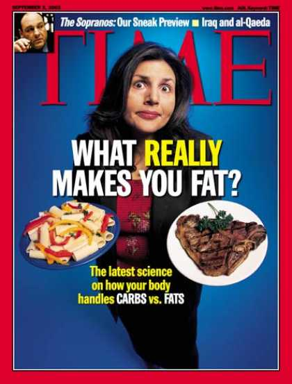Time - Carbs and Fats - Sep. 2, 2002 - Food - Diets - Health & Medicine