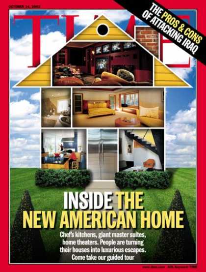 Time - Inside the New American Home - Oct. 14, 2002 - Design - Architecture - Housing