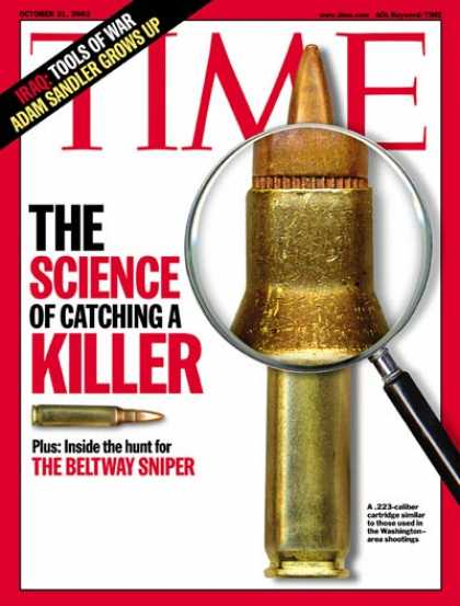 Time - The Science of Catching a Killer - Oct. 21, 2002 - Law Enforcement - FBI - Scien