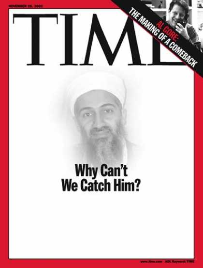 Time - Osama bin Laden - Nov. 25, 2002 - Sept. 11 - Al-Qaeda - Terrorism