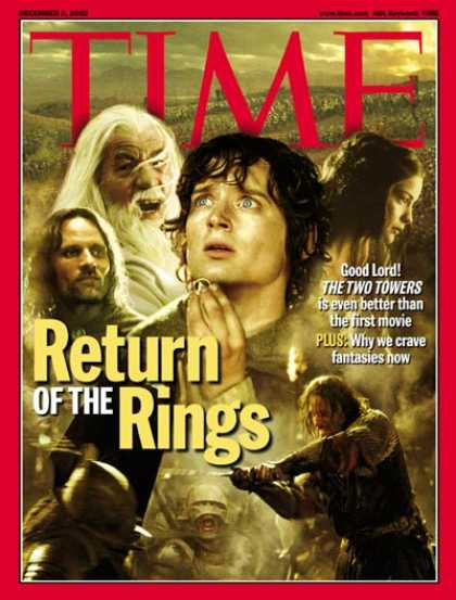 Time - Return of the Rings - Dec. 2, 2002 - Movies - Books