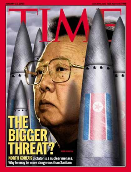 Time - Kim Jong Il - Jan. 13, 2003 - North Korea - Nuclear Weapons - Weapons