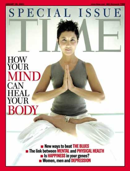 Time - How Your Mind Can Heal Your body - Jan. 20, 2003 - Psychology - Brain - Disease