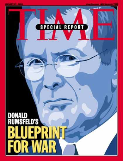 Time - Donald Rumsfeld - Jan. 27, 2003 - Military