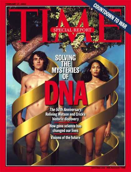 Time - DNA Turns 50 - Feb. 17, 2003 - Genetics - DNA - Health & Medicine