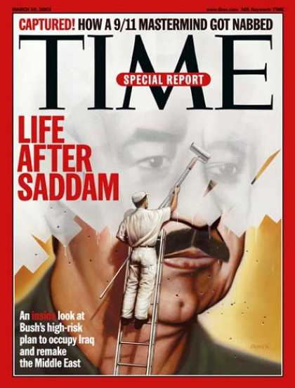 Time - Saddam Hussein - Mar. 10, 2003 - Iraq - Middle East