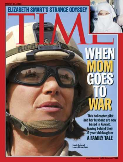 Time - Families at War - Mar. 24, 2003 - Iraq - Military - Middle East