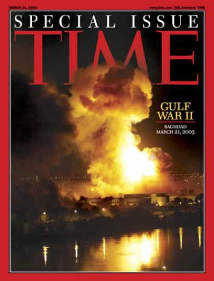 Time - Gulf War II - Mar. 31, 2003 - Iraq - Military - Middle East