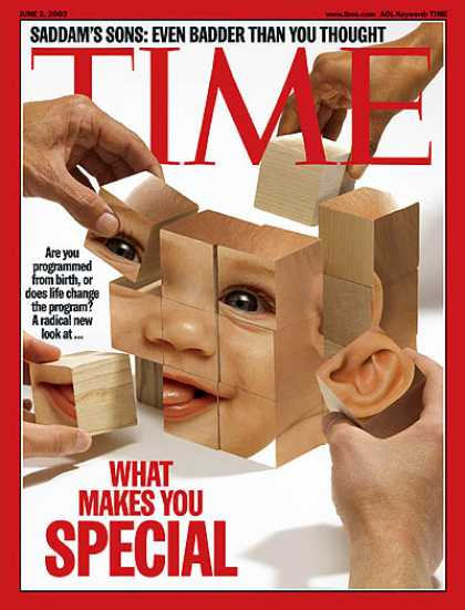 Time - What Makes You Special - June 2, 2003 - Genetics - DNA - Health & Medicine