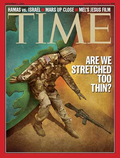 Time - Is the Army Stretched Too Thin - Sep. 1, 2003 - Politics - Iraq - Military